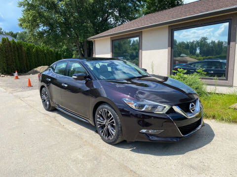 2016 Nissan Maxima for sale at VITALIYS AUTO SALES in Chicopee MA