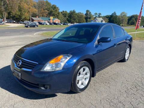 2009 Nissan Altima for sale at CVC AUTO SALES in Durham NC