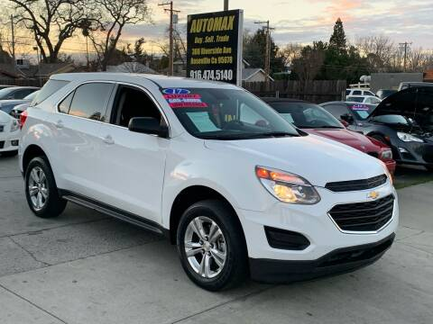 2017 Chevrolet Equinox for sale at AUTOMAX ENTERPRISES INC. in Roseville CA