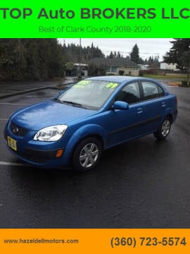 2009 Kia Rio for sale at TOP Auto BROKERS LLC in Vancouver WA