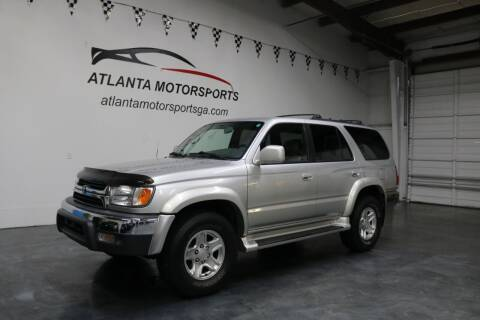 2001 Toyota 4Runner for sale at Atlanta Motorsports in Roswell GA