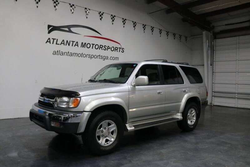 2001 Toyota 4Runner for sale at Atlanta Motorsports in Roswell GA