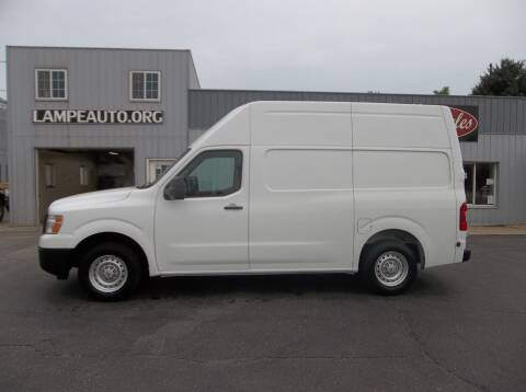 2018 Nissan NV Cargo for sale at Lampe Auto Sales in Merrill IA