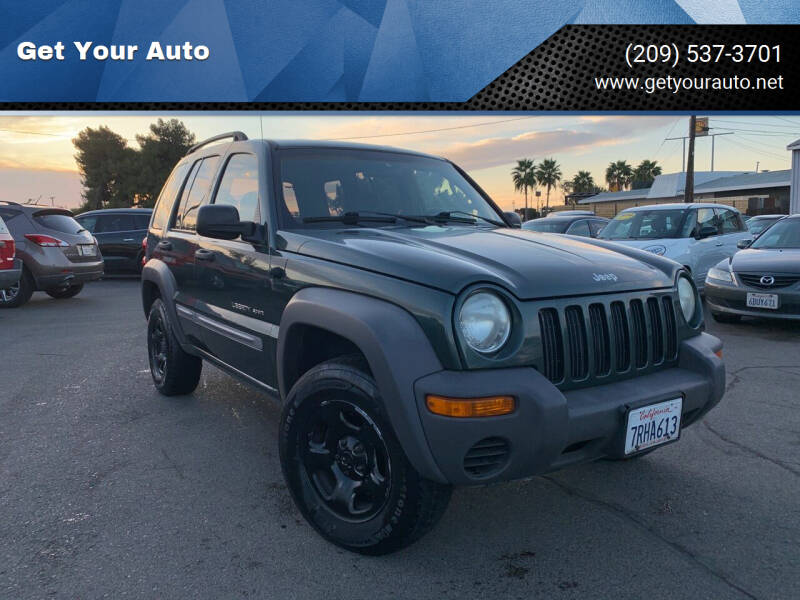 2002 Jeep Liberty for sale at Get Your Auto in Ceres CA