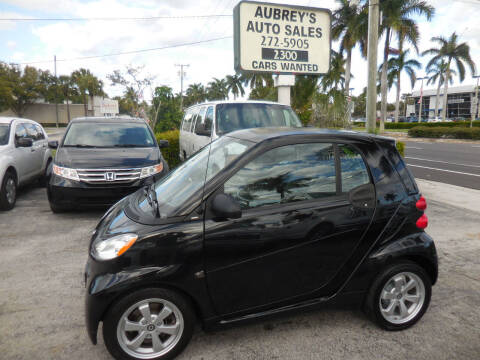 2012 Smart fortwo for sale at Aubrey's Auto Sales in Delray Beach FL