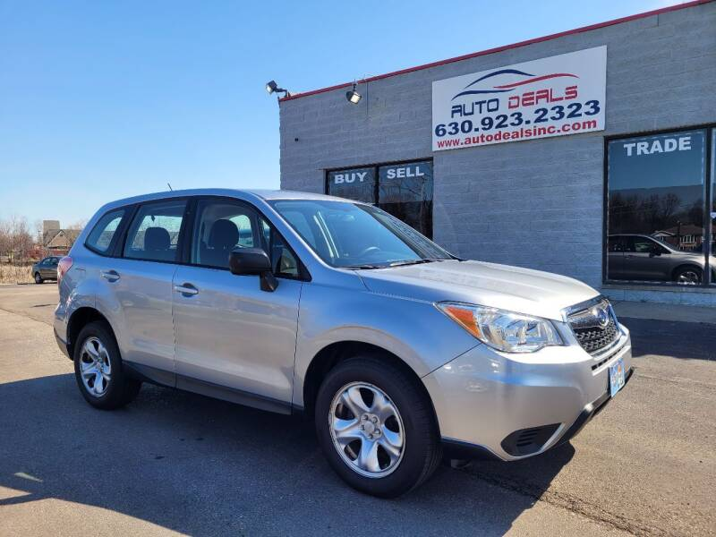 2014 Subaru Forester for sale at Auto Deals in Roselle IL