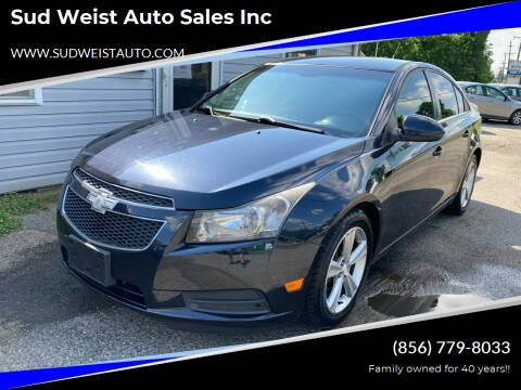 2014 Chevrolet Cruze for sale at Sud Weist Auto Sales Inc in Maple Shade NJ