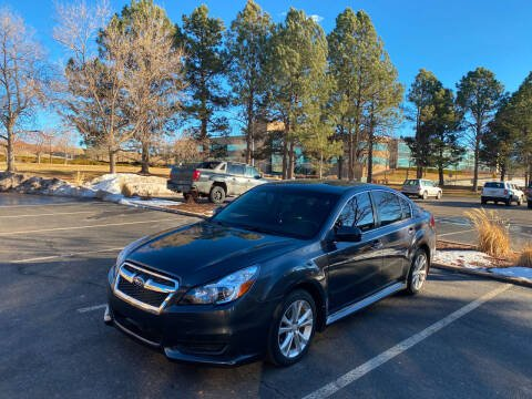 2013 Subaru Legacy for sale at QUEST MOTORS in Englewood CO