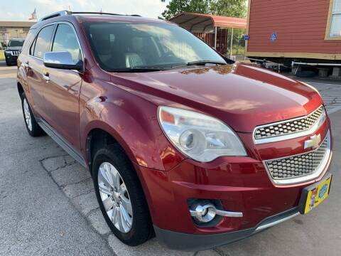 2010 Chevrolet Equinox for sale at JAVY AUTO SALES in Houston TX
