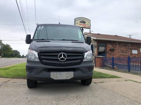 2014 Mercedes-Benz Sprinter Cargo for sale at All Starz Auto Center Inc in Redford MI