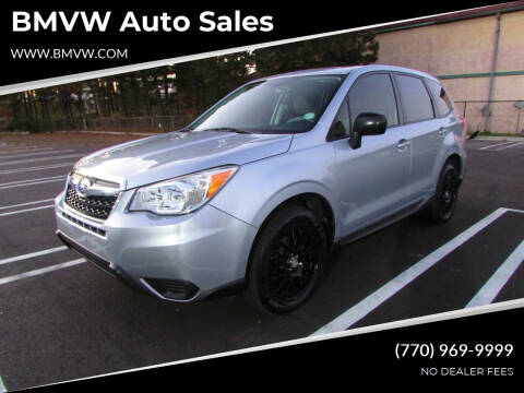 2014 Subaru Forester for sale at BMVW Auto Sales in Union City GA