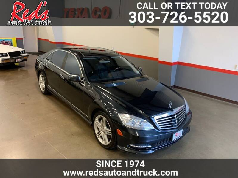 2013 Mercedes-Benz S-Class for sale at Red's Auto and Truck in Longmont CO