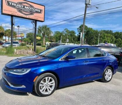 2016 Chrysler 200 for sale at Trust Motors in Jacksonville FL