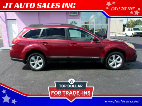 2014 Subaru Outback for sale at JT AUTO SALES INC in Oakland Park FL
