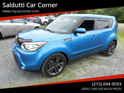 2015 Kia Soul for sale at Saldutti Car Corner in Gilbertsville PA