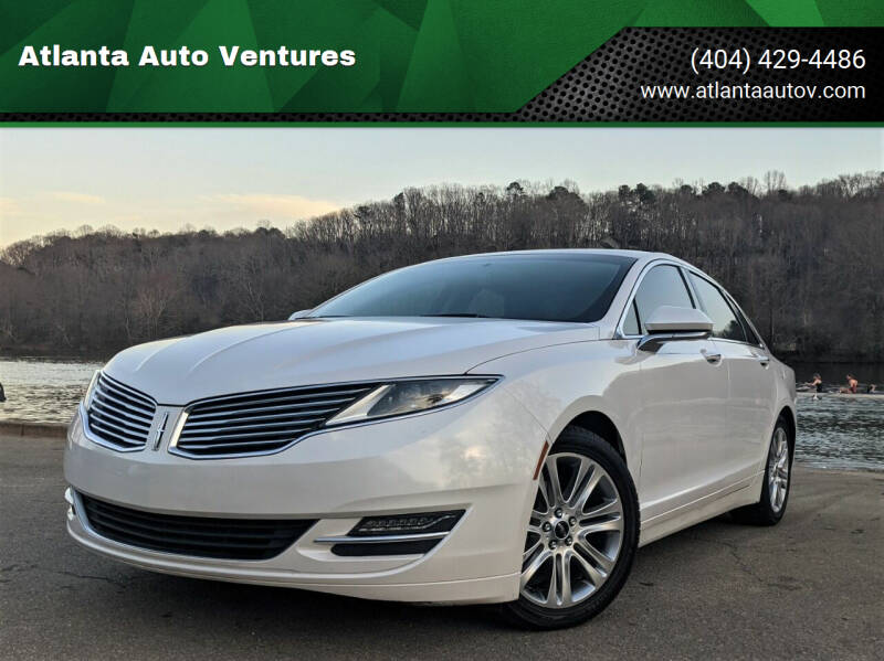 2014 Lincoln MKZ Hybrid for sale at Atlanta Auto Ventures in Roswell GA