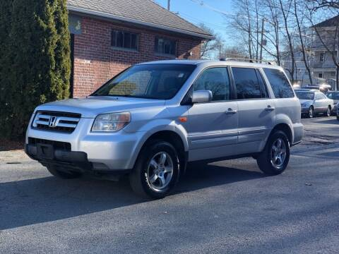 2008 Honda Pilot for sale at Emory Street Auto Sales and Service in Attleboro MA