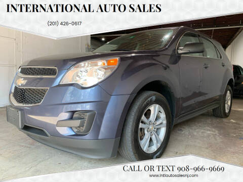 2013 Chevrolet Equinox for sale at International Auto Sales in Hasbrouck Heights NJ