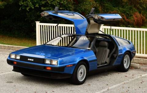1981 DeLorean DMC-12 for sale at NJ Enterprises in Indianapolis IN