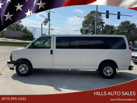 2017 Chevrolet Express Passenger for sale at Hills Auto Sales in Salem AR