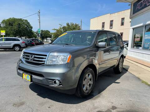 2013 Honda Pilot for sale at ADAM AUTO AGENCY in Rensselaer NY