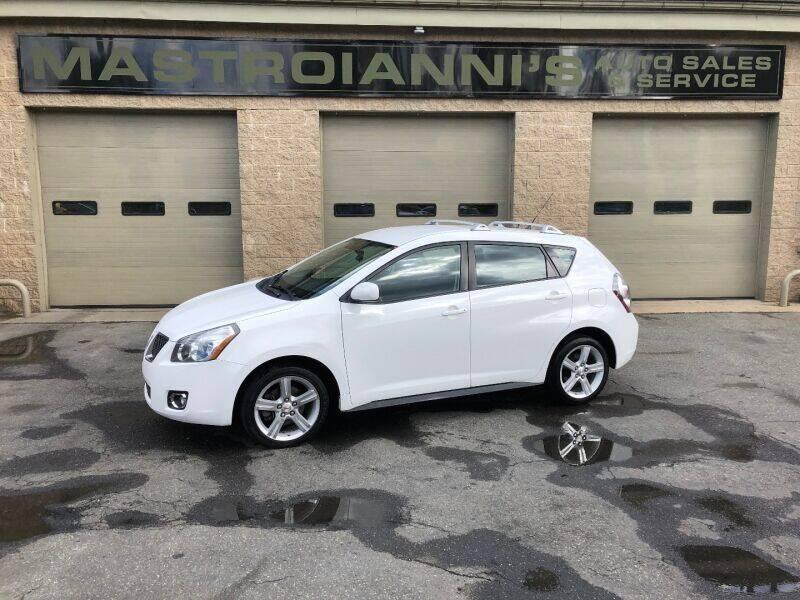 2009 Pontiac Vibe for sale at Mastroianni Auto Sales in Palmer MA