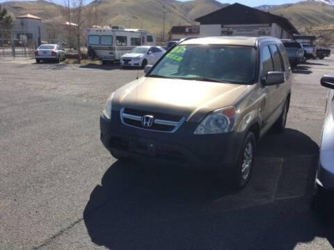 2002 Honda CR-V for sale at Small Car Motors in Carson City NV