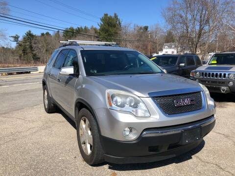 2007 GMC Acadia for sale at Royal Crest Motors in Haverhill MA