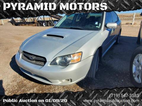 2005 Subaru Legacy for sale at PYRAMID MOTORS - Pueblo Lot in Pueblo CO