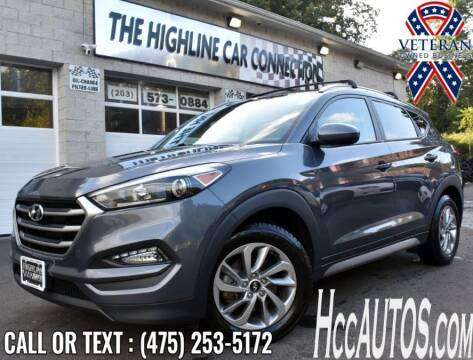 2017 Hyundai Tucson for sale at The Highline Car Connection in Waterbury CT