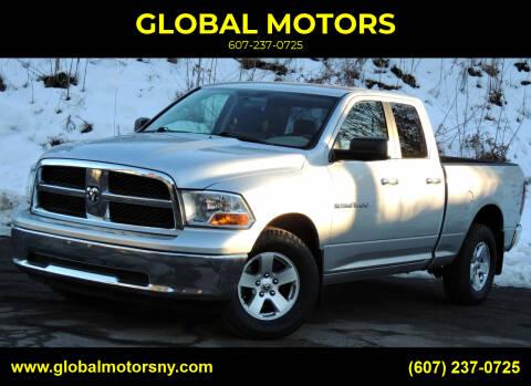 2011 RAM Ram Pickup 1500 for sale at GLOBAL MOTORS in Binghamton NY