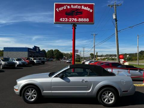 2007 Ford Mustang for sale at Ford's Auto Sales in Kingsport TN