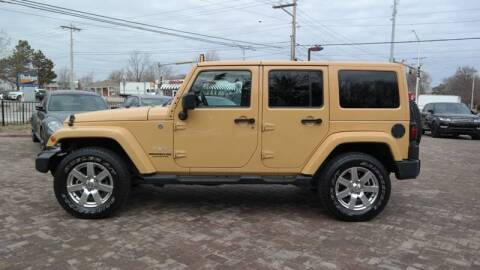 2013 Jeep Wrangler Unlimited for sale at Cars-KC LLC in Overland Park KS