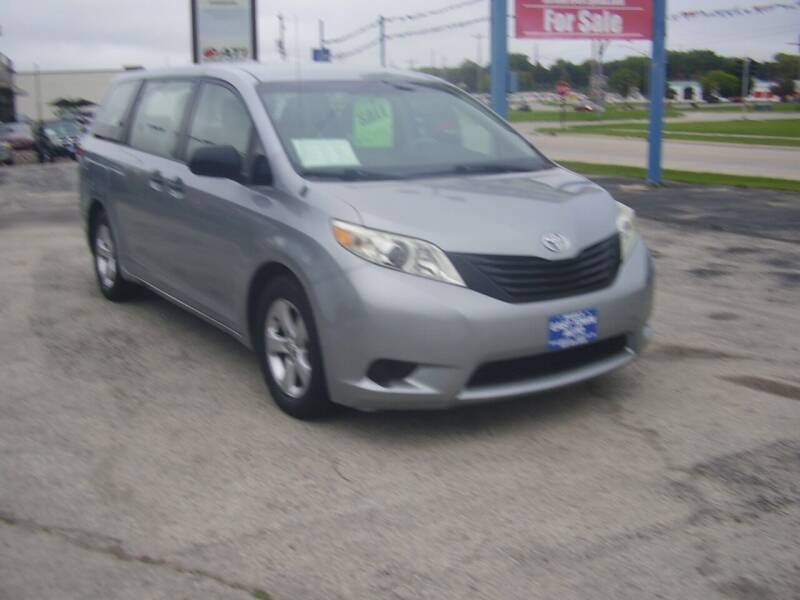 2011 Toyota Sienna for sale at East Town Auto in Green Bay WI