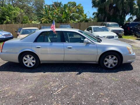 2006 Cadillac DTS for sale at ROCKLEDGE in Rockledge FL