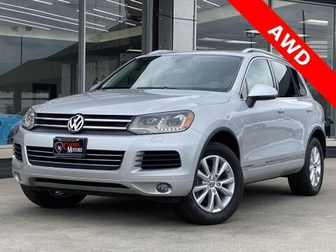 2013 Volkswagen Touareg for sale at Carmel Motors in Indianapolis IN