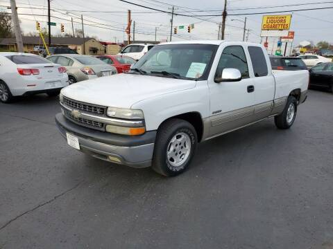 2002 Chevrolet Silverado 1500 for sale at Rucker's Auto Sales Inc. in Nashville TN