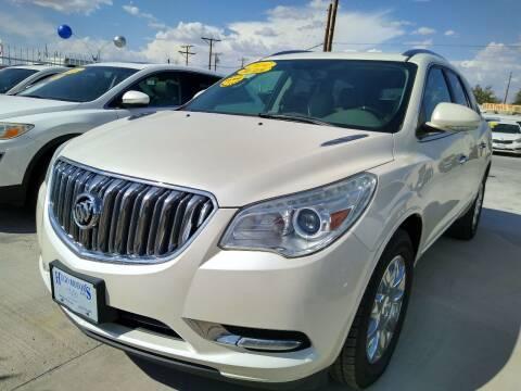 2014 Buick Enclave for sale at Hugo Motors INC in El Paso TX
