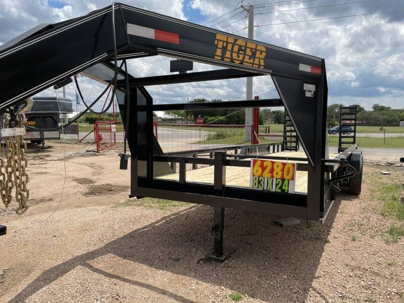 2021 TIGER  - LOW BOY 24' - 14K GVWR - SU for sale at LJD Sales in Lampasas TX