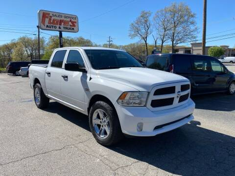 2017 RAM Ram Pickup 1500 for sale at FIORE'S AUTO & TRUCK SALES in Shrewsbury MA