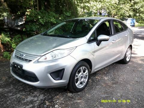 2015 Ford Fiesta for sale at Jack Mansur's Auto LLC in Pelham NH