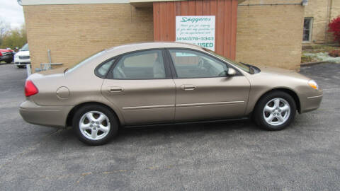 2003 Ford Taurus for sale at LENTZ USED VEHICLES INC in Waldo WI