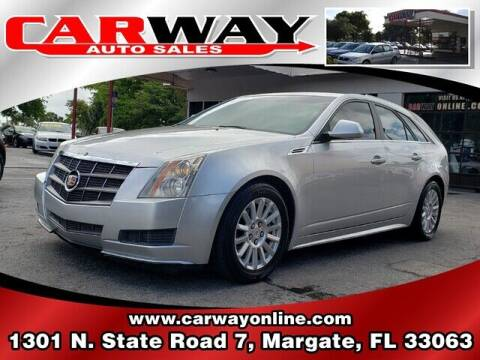 2010 Cadillac CTS for sale at CARWAY Auto Sales in Margate FL