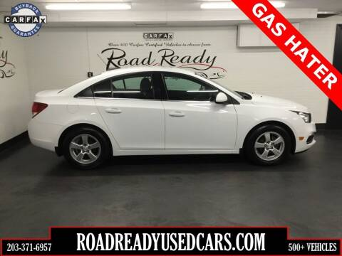 2016 Chevrolet Cruze Limited for sale at Road Ready Used Cars in Ansonia CT