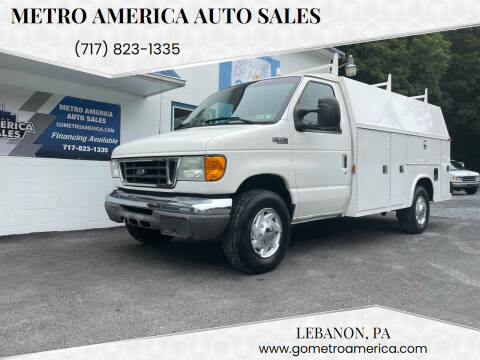 2004 Ford E-Series Chassis for sale at METRO AMERICA AUTO SALES of Lebanon in Lebanon PA