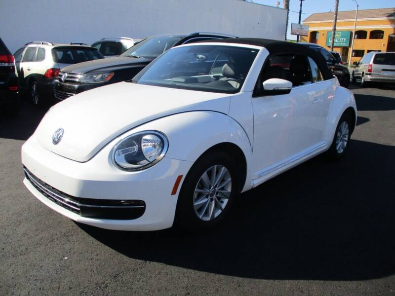 2013 Volkswagen Beetle for sale at Shoppe Auto Plus in Westminster CA
