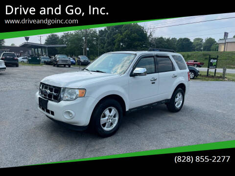 2011 Ford Escape for sale at Drive and Go, Inc. in Hickory NC