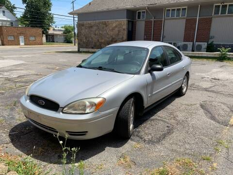 2004 Ford Taurus for sale at USA AUTO WHOLESALE LLC in Cleveland OH