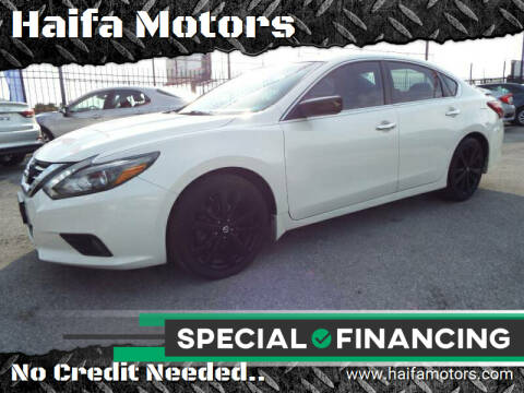 2017 Nissan Altima for sale at Haifa Motors in Philadelphia PA