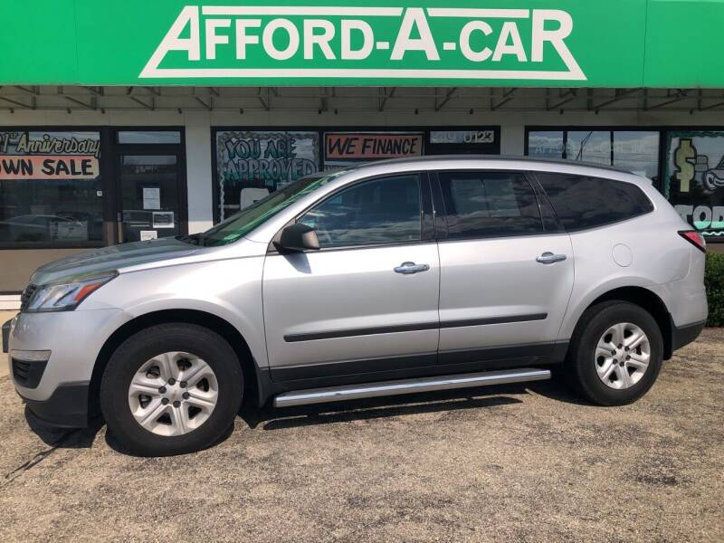 2016 Chevrolet Traverse for sale at Afford-A-Car in Dayton/Newcarlisle/Springfield OH